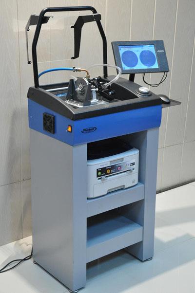 Станок балансировки ротороу турбокомпрессоров в сборе с картриджем СБТС-1700